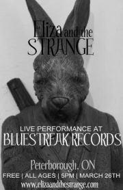 Bluestreak Records presents Eliza and the Strange