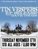 Tin Vespers EP Release