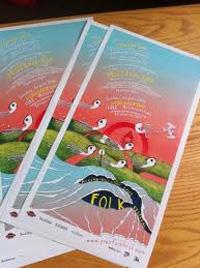 2011 Peterborough Folk Festival Poster by Brendan Mroz