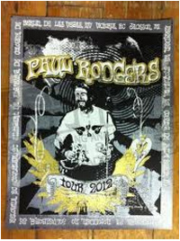 Paul Rodgers 2012 Tour serigraph by Renegade Apparel