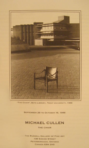 Cover of The Chair by Michael Cullen