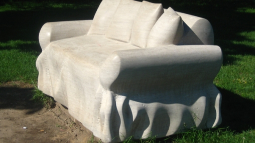 Loveseat by Earnest Daetwyler