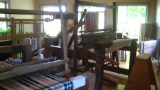 Samuel Lowry Weaver's Shop - other working looms