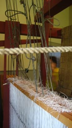 Samuel Lowry Jacquard Loom - tie up