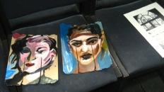 Paintings by Avery Morris