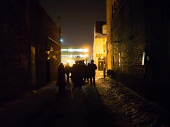 Light Hunters' Promenade (Photo Andy Carroll)