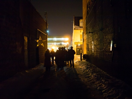 Light Hunters' Promenade (Photo Andy Carroll)