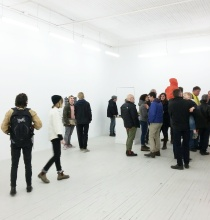 Exhibition opening at Evans Contemporary