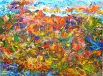 Ancient (future) landscape I by Peter Barron